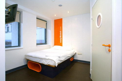 easyHotel Sofia / от 38 лв. за двойна стая с баня и климатик / LOW COST / евтин НИСКОТАРИФЕН хотел в централна София